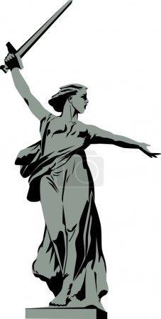 Sculpture Motherland Calls