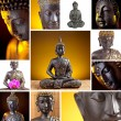 Buddha Collage. Taken in Studio with a 5D mark II....