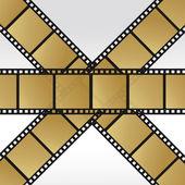 Set 35mm movie film reel filmstrip photo roll negative reel movie camera cinematic hollywood