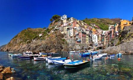 Photo for Riomaggiore village, Cinque Terre, Italy - Royalty Free Image