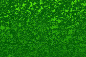 Abstract with green leaves