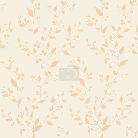 modèle sans couture vintage floral