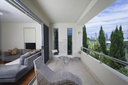 Stylish balcony