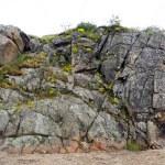 Textured cliff...