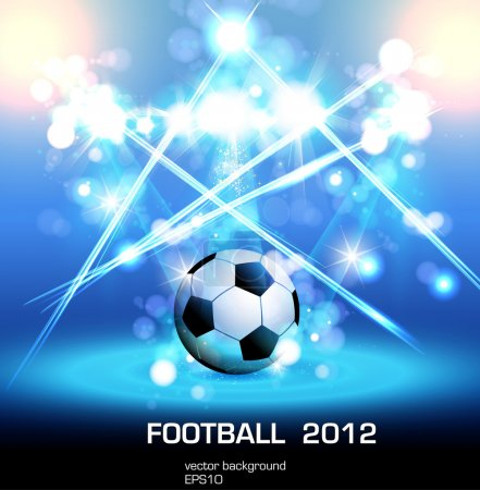 Football light poster