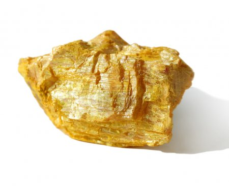 Mineral collection - orpiment