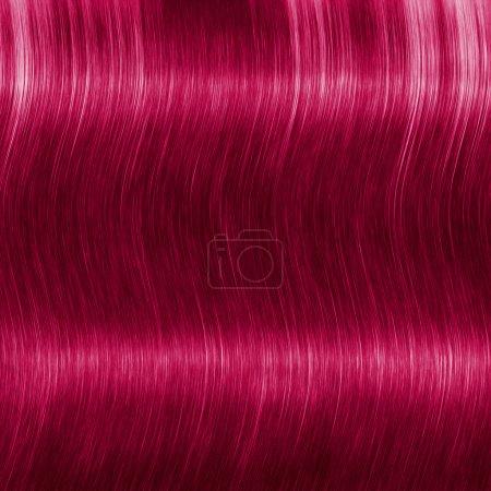Photo pour Fond de longs cheveux roux - image libre de droit