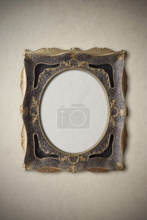 Photo for Vintage picture frame, copy space - Royalty Free Image