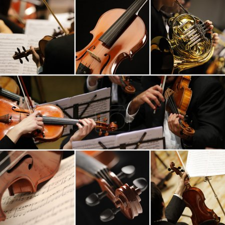 Photo for Classical music collage - Royalty Free Image