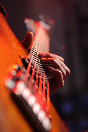 Photo for A rock guitarist - Royalty Free Image