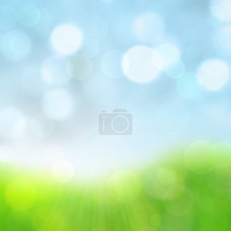 Spring abstract nature background.