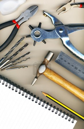 Photo for Background made of tools - Royalty Free Image