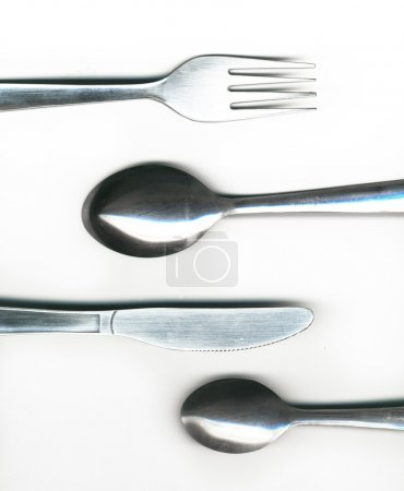 Photo for Knife, fork and spoon - Royalty Free Image