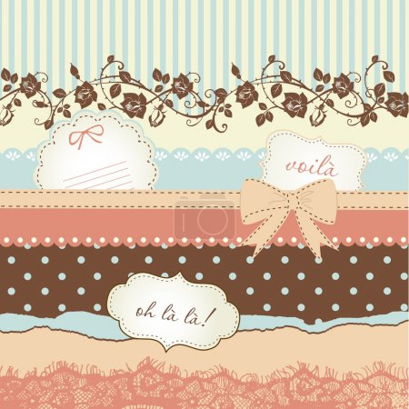 Photo for Cute scrapbook elements - Royalty Free Image