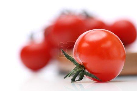 Closeup of a tomato