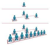 pyramidal network