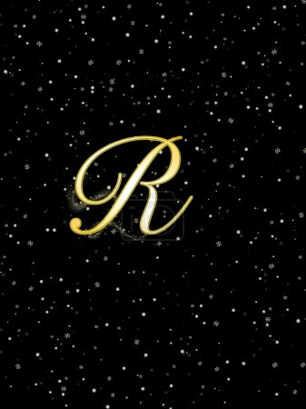 Lettre R .