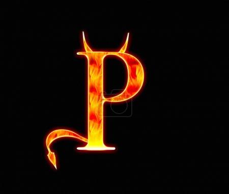 Demonio P .