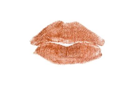 Photo pour Lèvres isolées sur fond blanc - image libre de droit