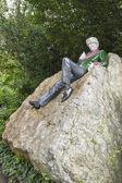 A szobor az oscar wilde Dublinban
