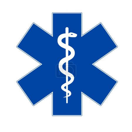 Emergency medicine symbol