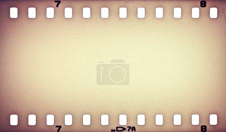 Photo pour Vieux film grunge bande arrière-plan - image libre de droit