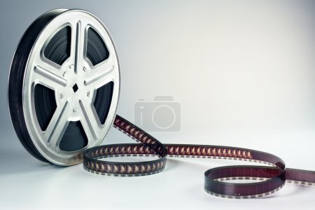 Old motion picture film reel...