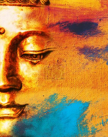 Photo for Abstract Buddhist Collage Background - Dream - Royalty Free Image