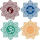 Set of Oriental Design Elements