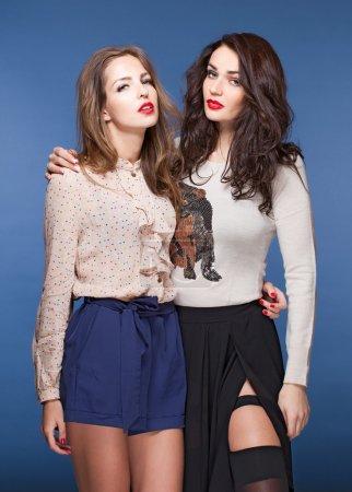 Beautiful models Professional portrait