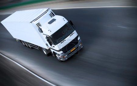 Truck on motorway - see other trucks in my portfolio