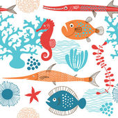 Fishes marine life