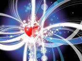 Láska srdce abstrakt