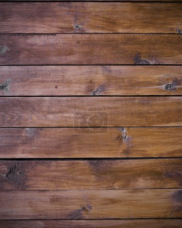 Natural boards as brown wood background