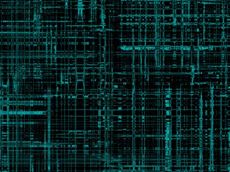 Modern cyberspace, black abstract texture, backgro...
