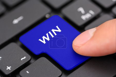 Win button