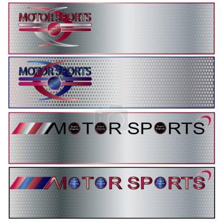 Vector Motor Sports Banner set