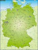 Deutschland und Umgebung Uebersicht