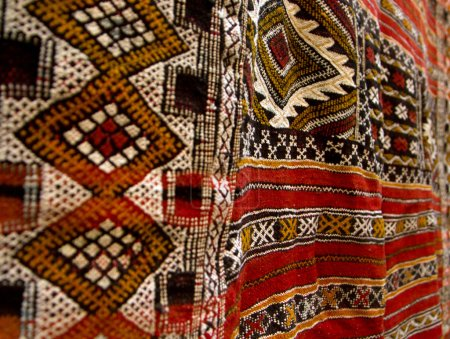 Woven handmade carpet