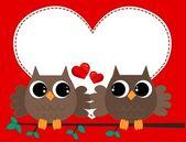 Dvě sovy v lásce