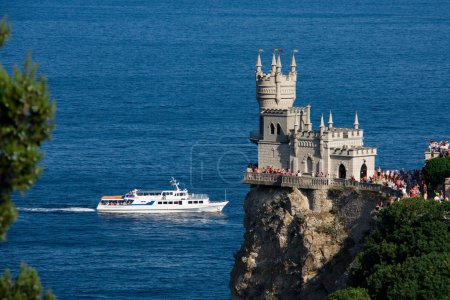 Swallow's Nest against the sea