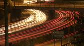 Interstate 5 Freeway at Night