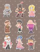cartoon medieval stickers