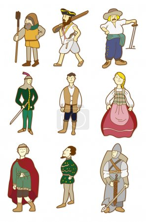cartoon Middle Ages