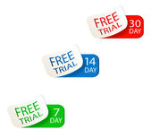 Free trial signs