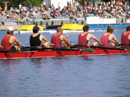 The Rowing speed sport