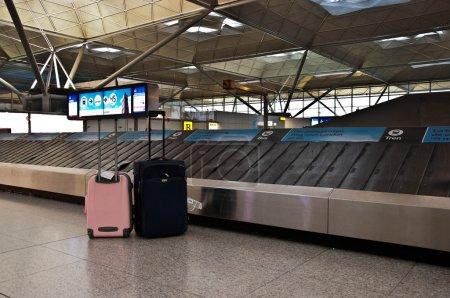 un sac à l'aéroport