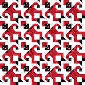 Tesselating Figure Pattern