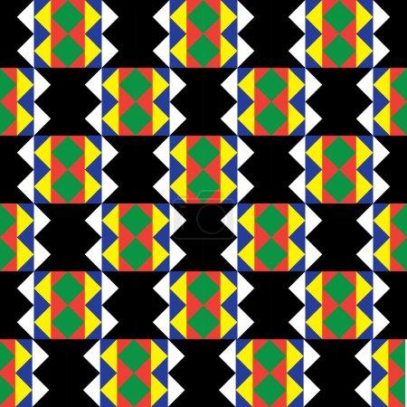 Seamless Zulu Pattern