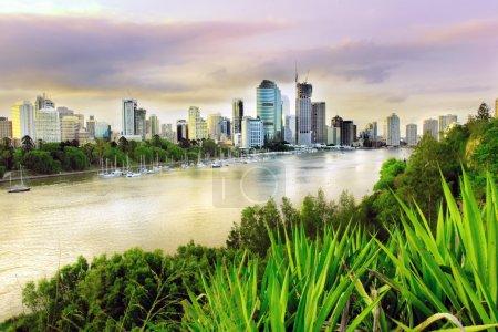 Brisbane evening